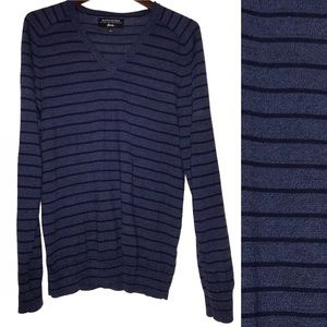 Banana Republic Men's merino wool striped sweater